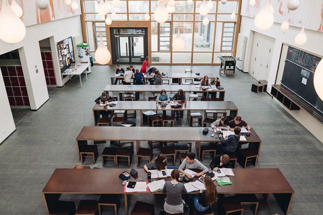 Ansicht 1 Schulgebäude - © ecolea Schwerin