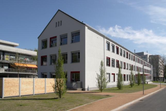Schulcampus, Ansicht Gebäude A