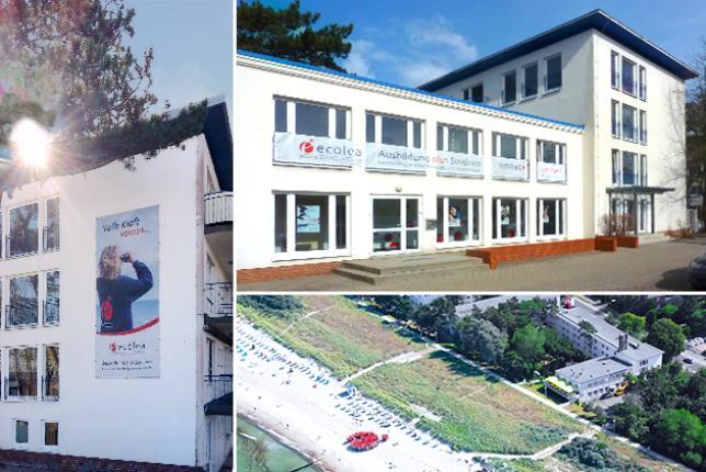 ecolea Rostock - eine Schule am Strand