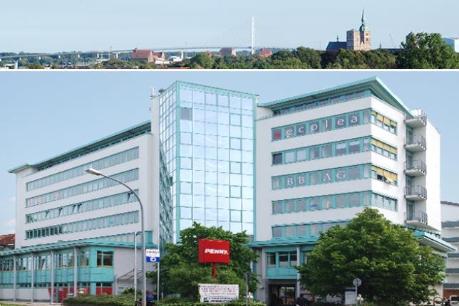 ecolea Stralsund - am Tor zur Insel Rügen