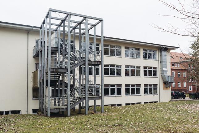 Ansicht 2 Schulgebäude - © ecolea Schwerin