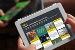 Pflegefachkräfte mit Tablet-PCs auf neuen Qualifizierungswegen